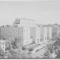 Statler Hotel. Elevated view of Statler Hotel I