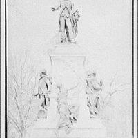 Statues and sculpture. General Lafayette, Lafayette Square III