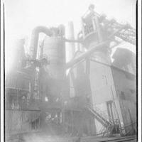 Steel mill, Massillon, Ohio. Blast furnace