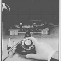 Telephone. Disk type dial phone II
