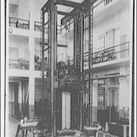 Testing machine. Longest testing machine in the world