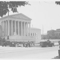Union Paving Co. At work paving in front of U.S. Supreme Court III