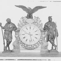 U.S. Capitol. Clock in U.S. Capitol