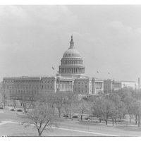 U.S. Capitol exteriors. U.S. Capitol from Acacia Building roof I