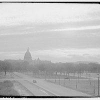 U.S. Capitol exteriors. U.S. Capitol from Mall