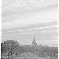 U.S. Capitol exteriors. U.S. Capitol from Mall I