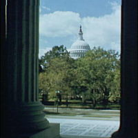 U.S. Capitol exteriors. U.S. Capitol from Supreme Court II