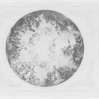 U.S. Capitol frescoes. Allegorical painting in U.S. Capitol rotunda I