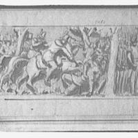 U.S. Capitol frescoes. Colonel Johnson and Tecumseh