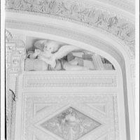U.S. Capitol frescoes. Fresco in President's room in U.S. Capitol I