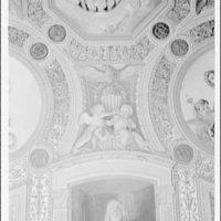 U.S. Capitol frescoes. Fresco in President's room in U.S. Capitol III