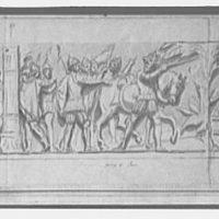 U.S. Capitol frescoes. Pizzarro going to Peru