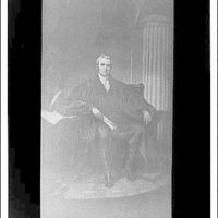 U.S. Capitol paintings. Chief Justice John Marshall by Brooke IV