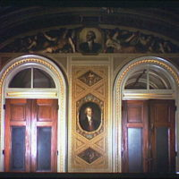 U.S. Capitol paintings. Thomas Jefferson, Secretary of State painting in U.S. Capitol I