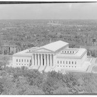 U.S. Supreme Court exteriors. U.S. Supreme Court from U.S. Capitol dome III