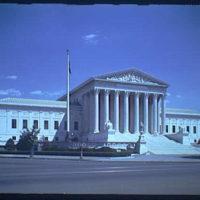 U.S. Supreme Court exteriors. U.S. Supreme Court, horizontal IV