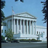 U.S. Supreme Court exteriors. U.S. Supreme Court, vertical I