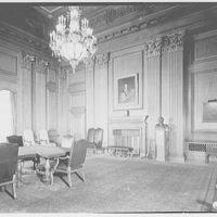 U.S. Supreme Court interiors. Conference room in U.S. Supreme Court
