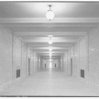U.S. Supreme Court interiors. Long corridor, U.S. Supreme Court II