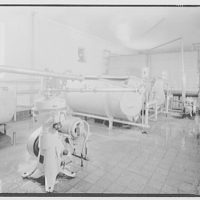 Wakefield Dairy. Interior of Wakefield Dairy plant, 41st and L Sts., S.E.