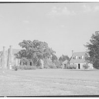 Wakefield, Washington's birthplace. View of Wakefield grounds and houses from rear