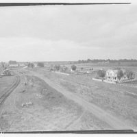 Waldorf, Maryland and vicinity. Elevated view of houses and fields