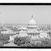 Washington, D.C. views. View of the U.S. Capitol and beyond, showing the Mall and the Washington Monument II