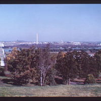 Washington, D.C. views. View of Washington, D.C. from Custis-Lee Mansion II