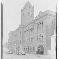 Washington Railway & Electric Co. Exterior of Washington Railway & Electric Co.
