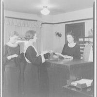 Washington School for Secretaries. Three women in office at Washington School for Secretaries II