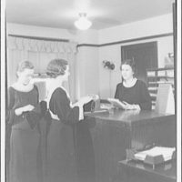 Washington School for Secretaries. Three women in office at Washington School for Secretaries I