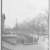 White House. View of White House from War Department III