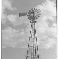 Windmill on V Street (Mr. Allen). View of windmill I