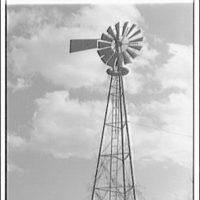Windmill on V Street (Mr. Allen). View of windmill II