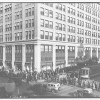 Woodward & Lothrop. Shopping crowds by Woodward & Lothrop III