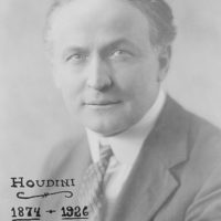 [Houdini, head-and-shoulder portrait, facing front]