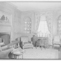 Marshall Field, residence in Huntington, Long Island, New York. Gun room, toward window