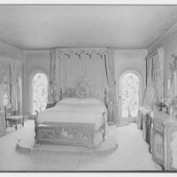 Thomas A. O'Hara, residence in King's Point, Great Neck, Long Island. Bed and two grille windows