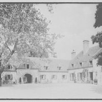 E. Roland Harriman, residence in Arden, New York. Sycamore and house I