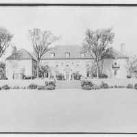 J.J. Bodell, residence at 61 Intervale Rd., Providence, Rhode Island. View on axis, from street