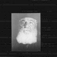 Portrait photograph of a monk from a Greek monastary