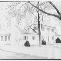 "Amory S. Carhart, ""Ashland Farm"", residence in Warrenton, Virginia. General view from left II"