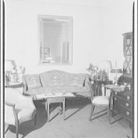 Schuyler & Lounsbery, shop at 1409 20th St. Schuyler & Lounsbery desks, tables, interior V