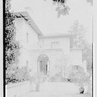 Anthony Campagna, residence in Riverdale, New York. Vista from greenhouse roof