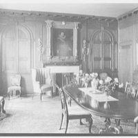 Charles S. MacVeigh, residence at 40 E. 71st St., New York City. Dining room