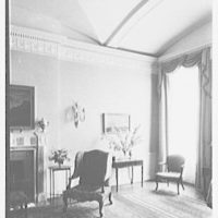 R.C. Leffingwell, residence at 38 E. 69th St., New York City. Blue room window
