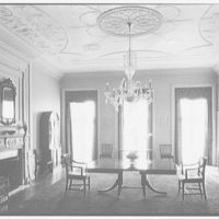 R.C. Leffingwell, residence at 38 E. 69th St., New York City. Dining room from living room door