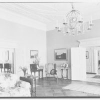R.C. Leffingwell, residence at 38 E. 69th St., New York City. Living room, to two doors