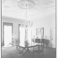 R.C. Leffingwell, residence at 38 E. 69th St., New York City. Vertical of dining room windows