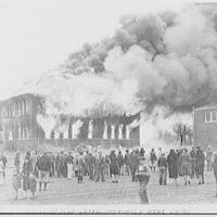 U.S. Chamber of Commerce. Harrah School on fire